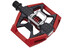 Crankbrothers Double Shot - Pedales - rojo/negro